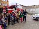 snПрофесията на моя баща- Посещение на пожарната и полицията